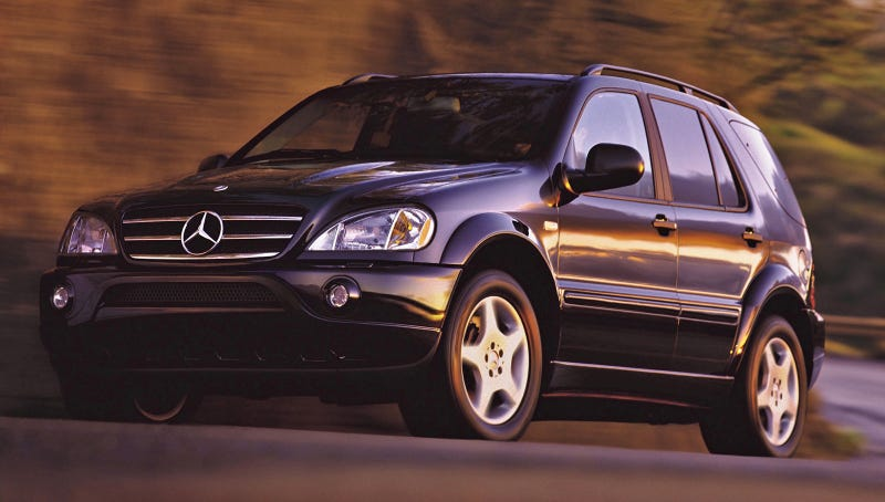 The Ridiculously Cheap Mercedes Ml55 Amg Has One Trick Left