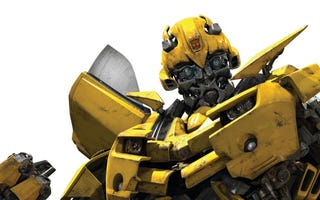 Illustration for article titled Bumblebee Begging on the Streets for a Trip to Cybertron