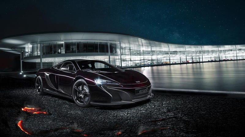 Illustration for article titled The McLaren Special Operations 650S Turns Your Cash Into Lava