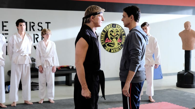 Illustration for article titled Cobra Kai karate-chops into season 2 with half the humor and double the melodrama