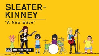 Sleater-Kinney -- 'A New Wave'