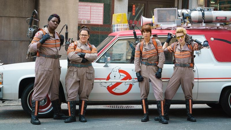 Paul Feig's Ghostbusters gets a new title for home video