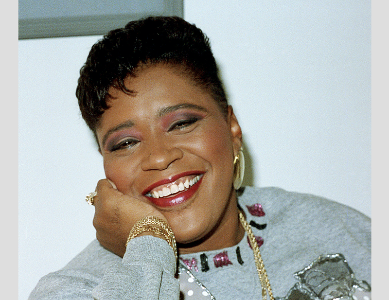 Marsha Warfield on May 14, 1990 (AP Images)