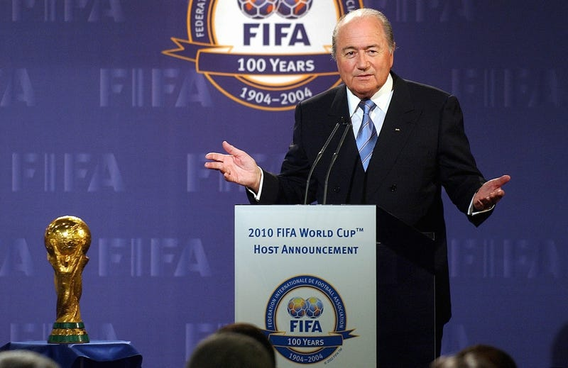 Officially South Africa Won The Vote To Host The  World Cup   But According To Allegations From A Fifa Executive Committee Member