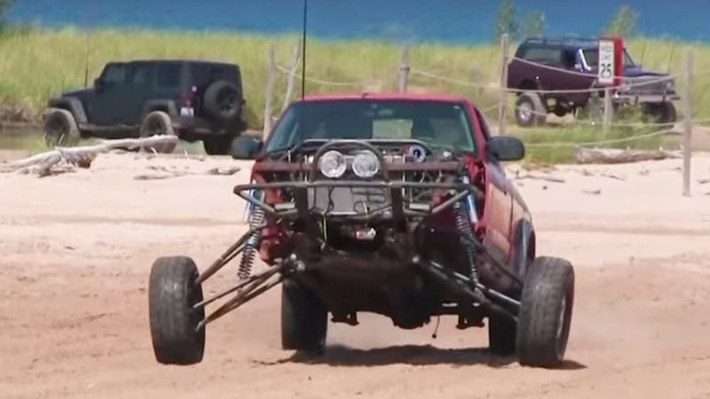 What Is A 'Prerunner' And Why Is This Chevy S-10 10 Feet Wide?