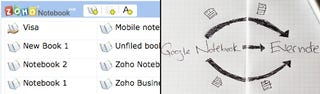 Illustration for article titled Zoho, Evernote Open Up Google Notebook Importers