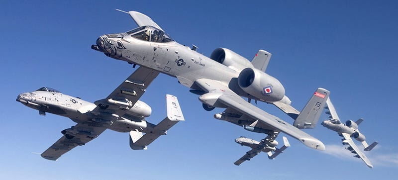 Illustration for article titled The USAF's Much Maligned A-10 Warthogs Are Deploying To Fight ISIS