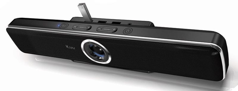 Illustration for article titled iLuv iSP200: A Pretty Soundbar with Clever USB Hub