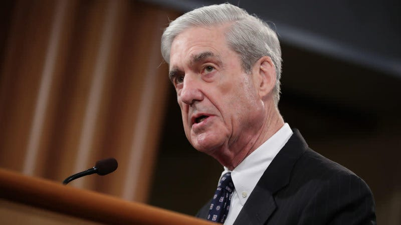 Robert Mueller makes a statement about the Russia investigation on May 29, 2019, at the Justice Department in Washington, DC.
