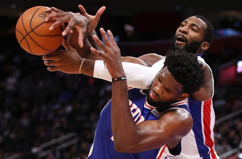 Illustration for article titled Joel Embiid And Andre Drummond Are Beefing, We Got Some Basketbeef Here