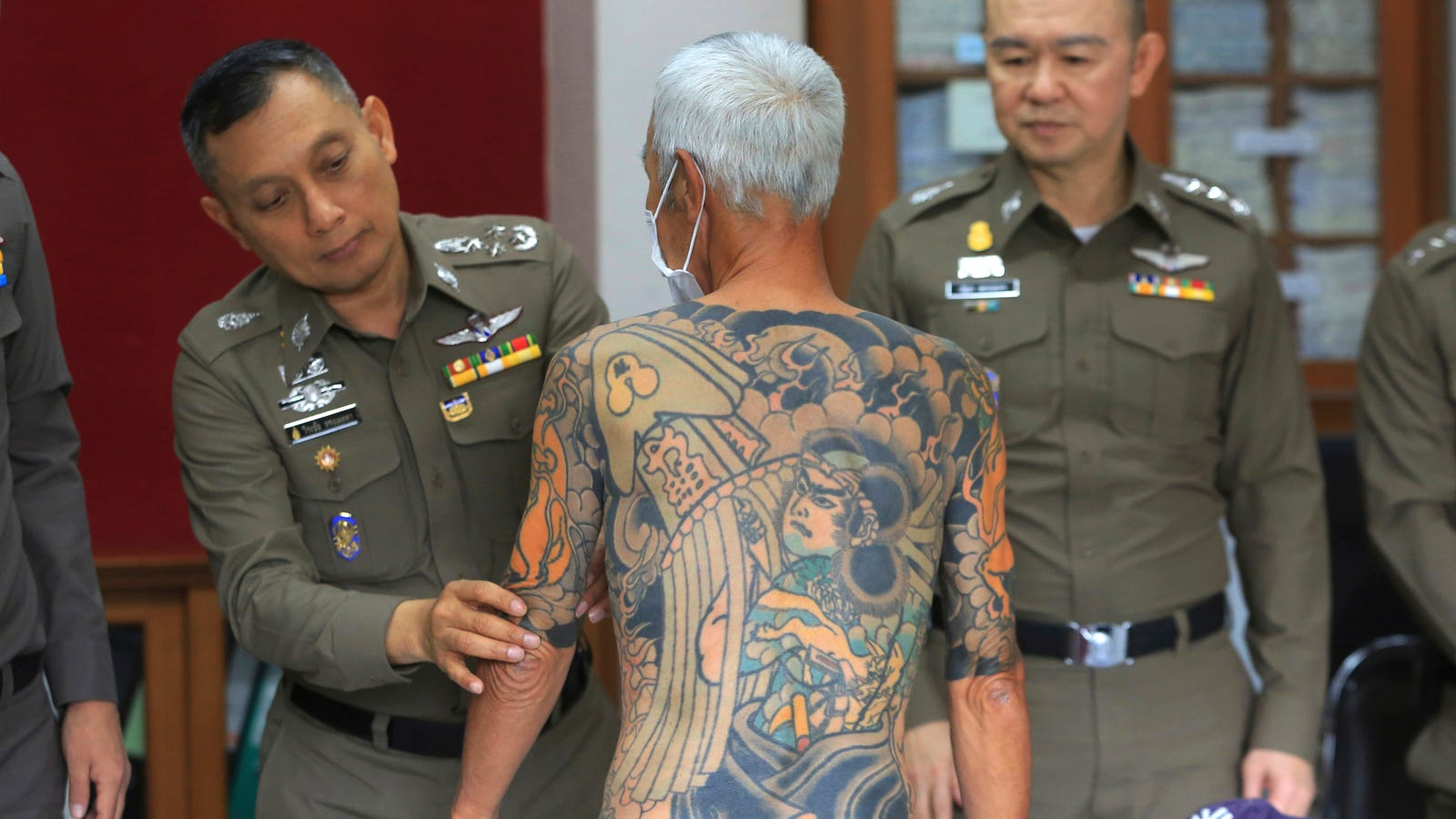 Fugitive Yazuka Boss Arrested After Facebook Photos of His Tattoos Go Viral