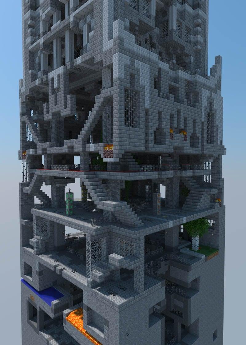 Guy Spends Five Years Building A Minecraft Castle Kotaku Uk