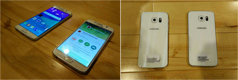Illustration for article titled Estas son las imágenes más claras del nuevo Samsung Galaxy S6 y S6 Edge