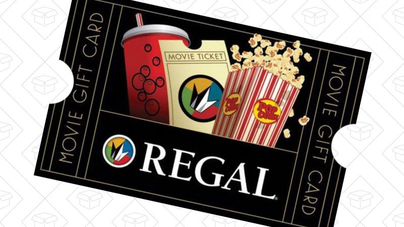 $50 Regal Gift Card, $40