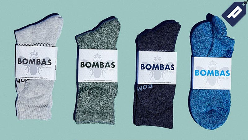 Illustration for article titled Get 20% Off Bombas: The Casual Sock Engineered For Comfort & Athletics