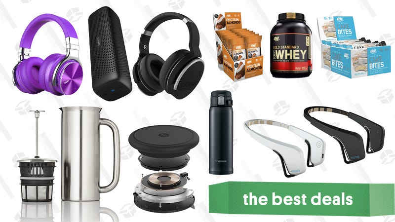 Illustration for article titled Saturday's Best Deals: Echo Dots, PlayStation Classic, Whey Protein, Insulated Mugs, And More