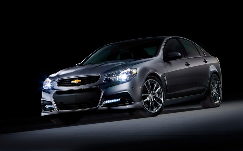Illustration for article titled Trying to Convince My Sister to Buy a Chevrolet SS