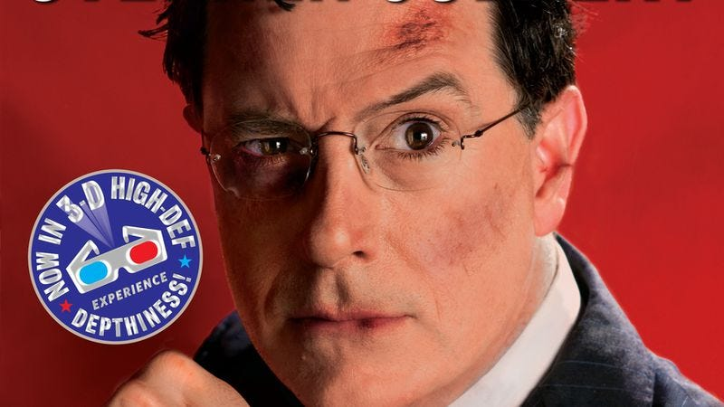 Illustration for article titled Stephen Colbert:America Again: Re-Becoming the Greatness We Never Weren't