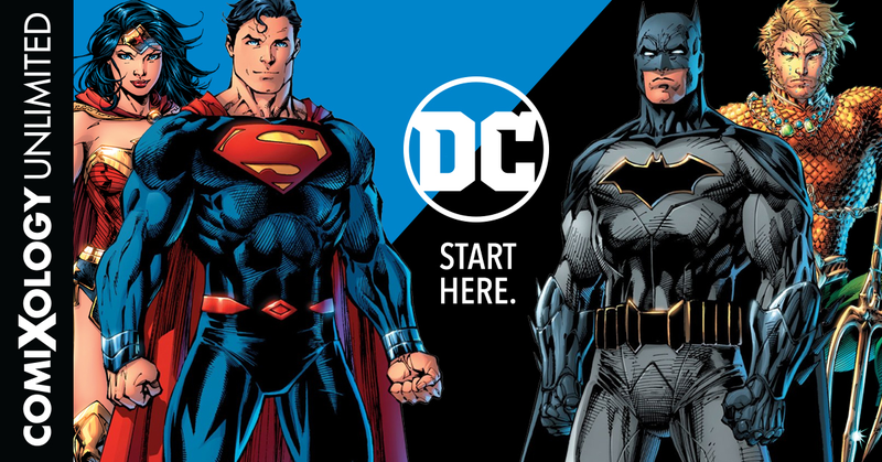 The world's finest are coming to Comixology Unlimited.