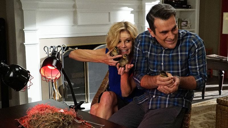 Illustration for article titled Phil Dunphy brings joy to an otherwise dull episode of Modern Family