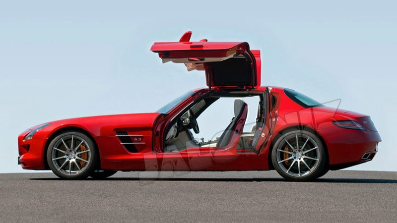 this is a four door mercedes benz sls amg. Black Bedroom Furniture Sets. Home Design Ideas