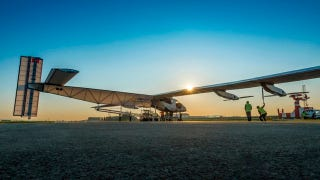 Illustration for article titled Solar Impulse 2 Completes Successful First Flight