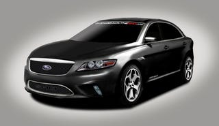 Illustration for article titled 2010 Ford Taurus SHO Renderings Updated