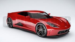 """Illustration for article titled """"New Coke"""" Corvette"""