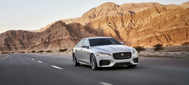 Illustration for article titled 2015 Jaguar XF: This Is It