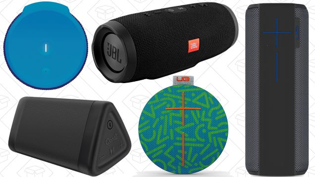 These Are the Five Best Water-Resistant Bluetooth Speakers