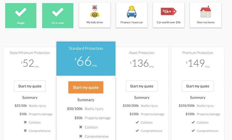 Insurify Makes Comparing Car Insurance Companies Simple ...