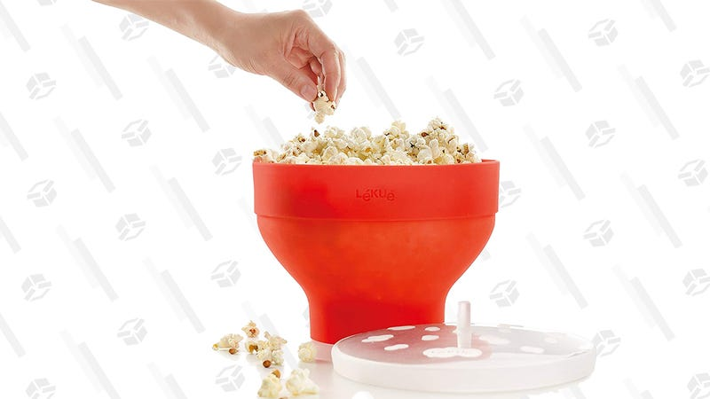 Lekue Microwave Popcorn Popper, Red | $17 | Amazon