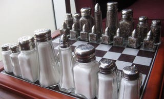 Illustration for article titled Salt and Pepper Chess