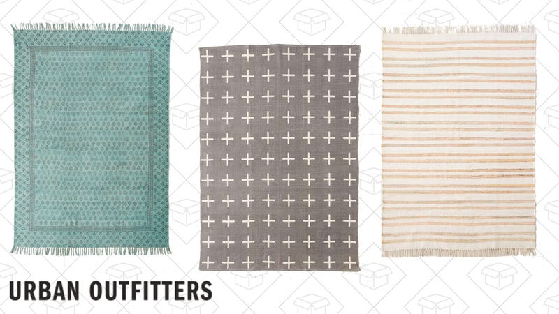 25% off select area rugs