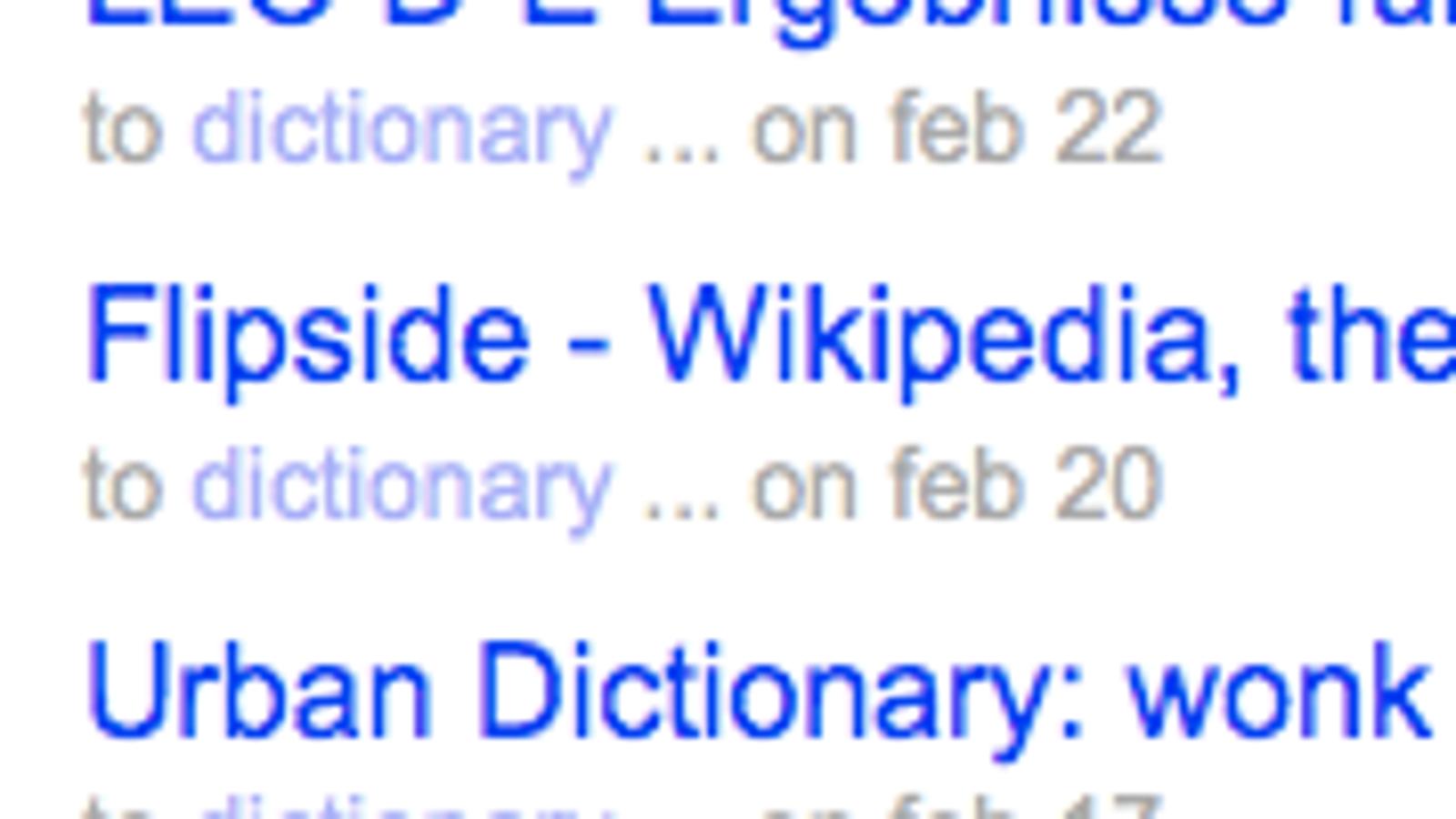 Use del icio us as a Personal Dictionary
