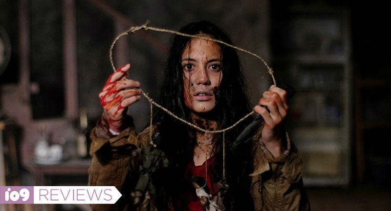 Pevita Pearce plays one of the cursed siblings in Timo Tjahjanto's May the Devil Take You.