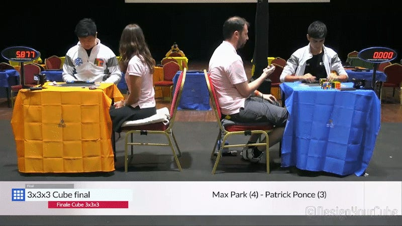 Man Solves Rubik's Cube In 5.4 Seconds At World Championship