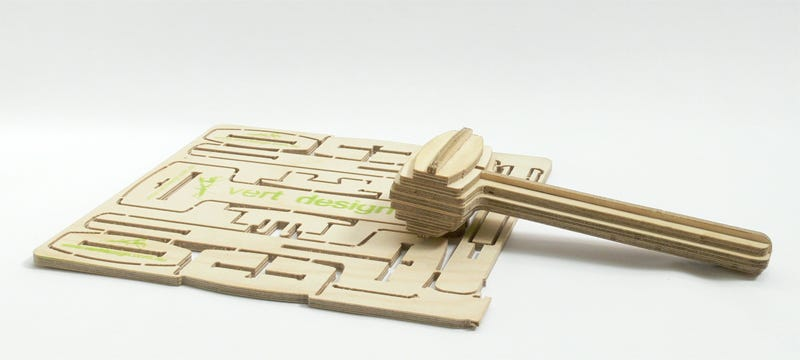 Illustration for article titled Multi-Functional MC Mallet Comes in a Flat-Pack