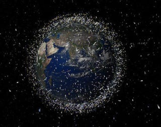 Illustration for article titled Satellite Collision May Have Endangered All Future Space Launches