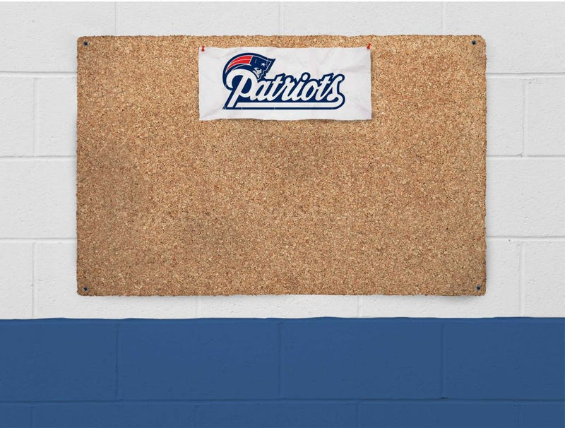 Illustration for article titled Patriots Use Large Piece Of Cork As Bulletin Board Material