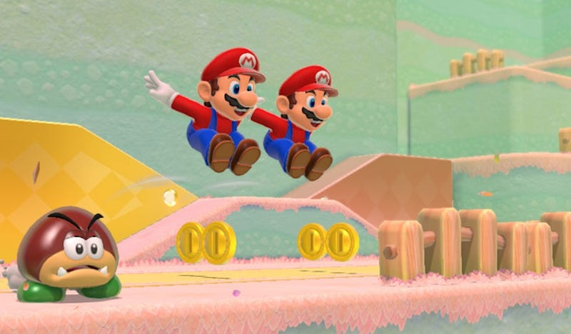 Illustration for article titled Mario Games Are Better When They Change