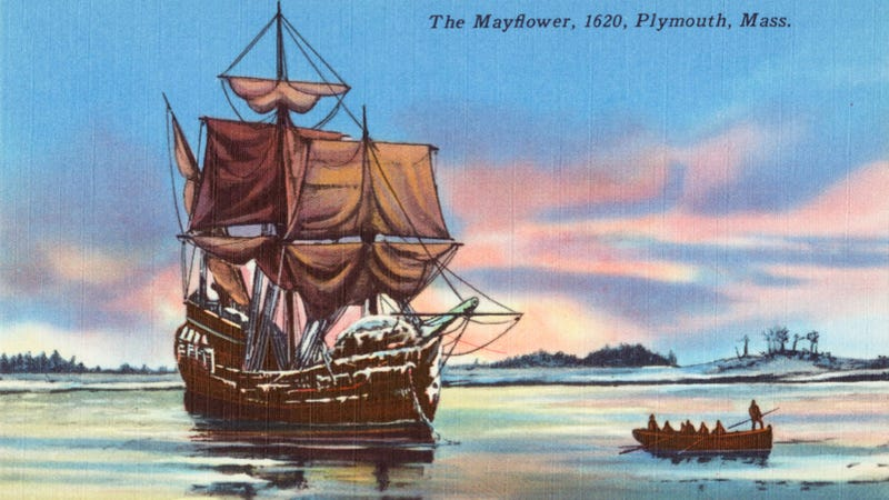 Illustration for article titled The Mayflower Could Be Stuck In The Middle Of England