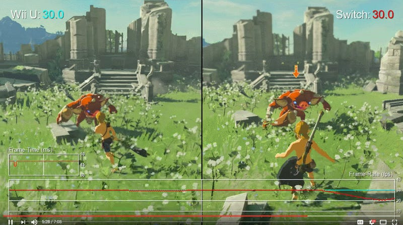 Zelda: Breath Of The Wild's Switch And Wii U Versions, Compared
