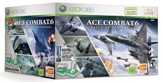 Illustration for article titled Ace Combat 6 Flightstick Bundle Triumpantly Returns