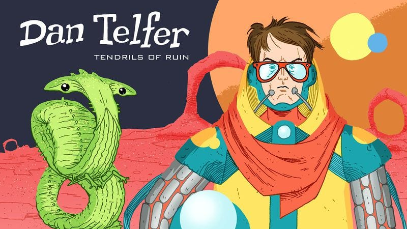 Illustration for article titled Win a copy of comedian Dan Telfer's new album Tendrils Of Ruin