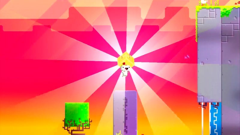"""Illustration for article titled Ridiculously Obscure """"Black Monolith"""" in Fez Rallies Gamers To A Group Effort"""