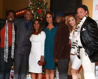 Harold Perrineau Jr., Malcolm D. Lee, Nia Long, Sanaa Lathan, Taye Diggs, Melissa De Sousa and Terrence HowardRobin Marchant/Getty Images