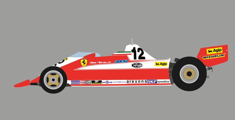 Illustration for article titled I did some more old F1 cars