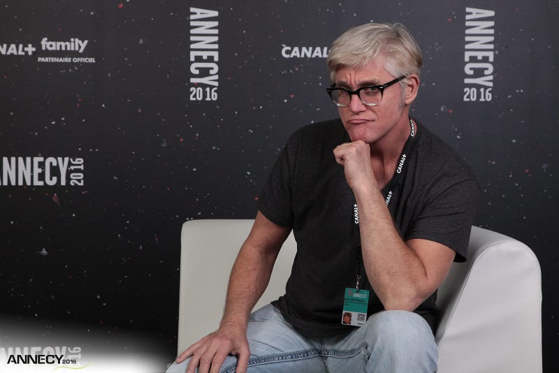 John Kricfalusi at the Annecy International Animation Film Festival in 2016.