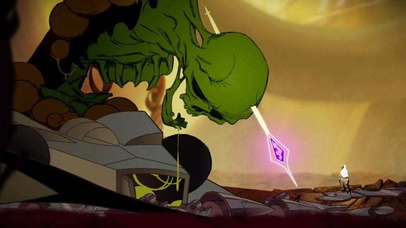 Screenshot: Sundered/Thunder Lotus Games